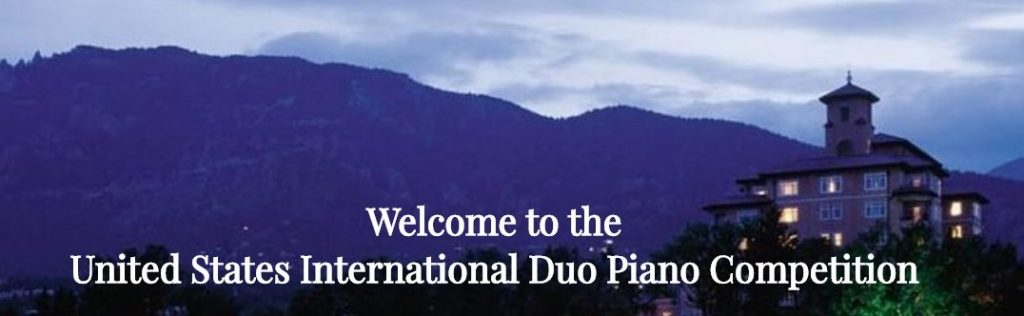 Welcome to the United States International Duo Piano Competition
